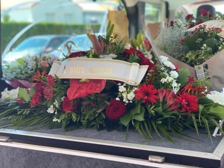 Gerbe pour obsèques