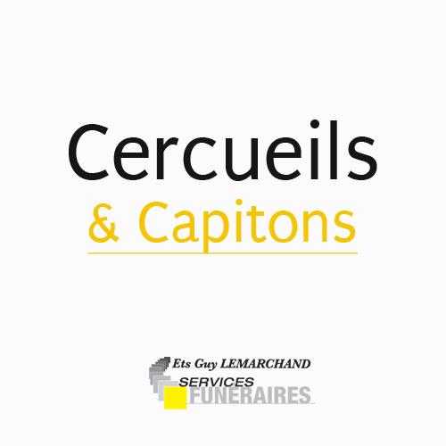 Gamme cercueils et capitons